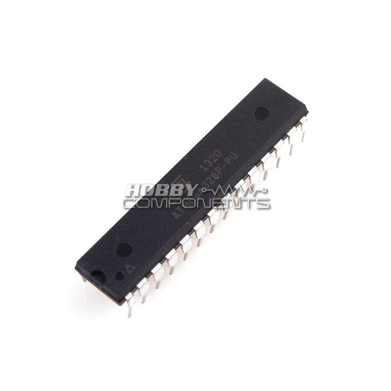 ATMega328-PU ATMEL Microcontroller Chip (Programmed with Arduino bootloader)