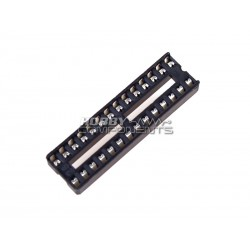 0.3 Inch DIL IC Socket 28 Pin (Pack of 5)