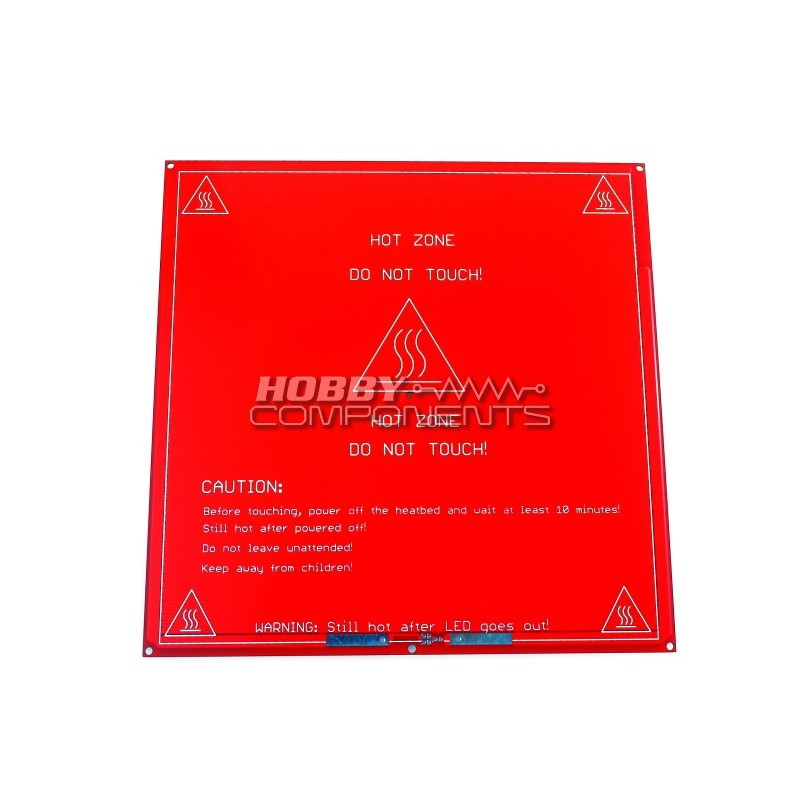 RepRap PCB Heat bed MK2a (improved design)