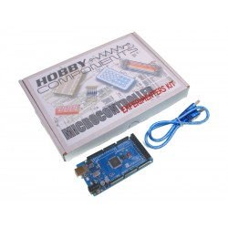 Hobby Components Microcontroller Experimenter's Kit with Compatible R3 Mega