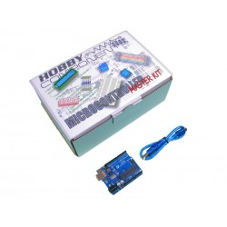 Hobby Components Master Experimenter's Kit with Arduino compatible Uno (R3)