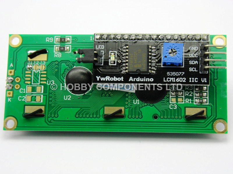 Arduino compatible iic i c twi ywrobot serial lcd