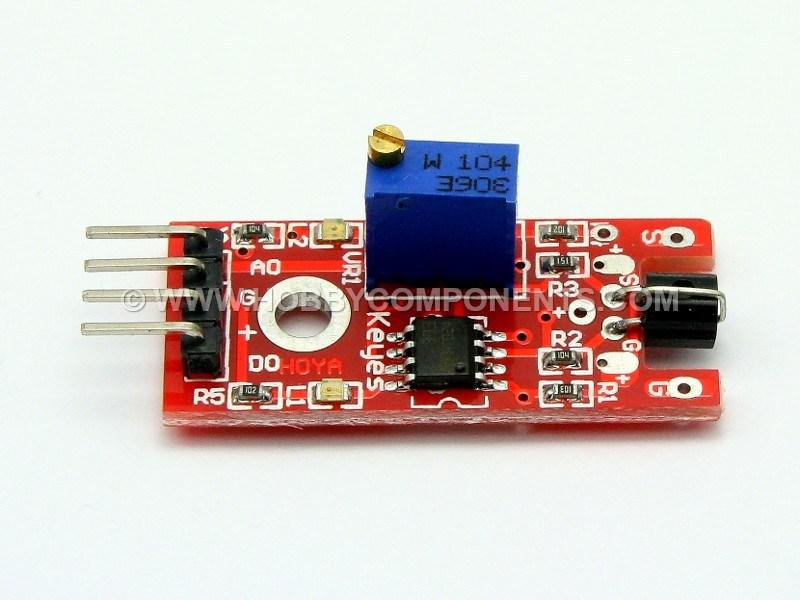 Capacitive touch sensor module for arduino black blue