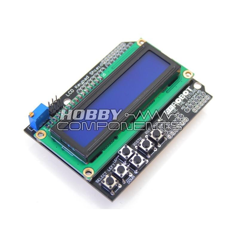 Hobby components ukarduino lcd keypad shield for arduino