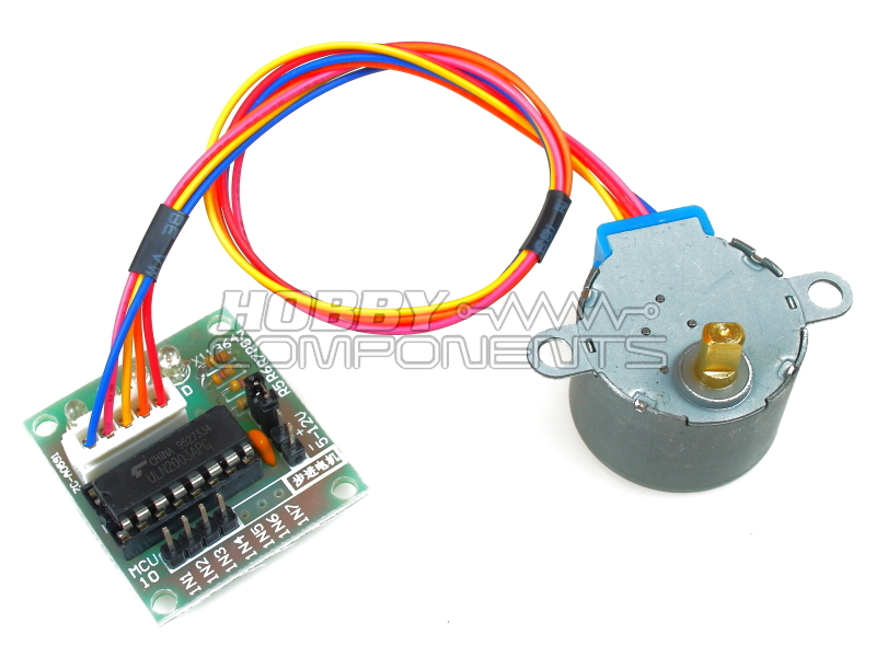 5v 4 phase dc gear stepper motor driver board for Dc stepper motor working