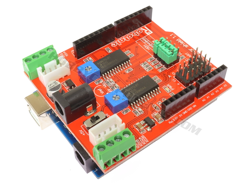 Dual A3697 Stepper Motor Driver Shield (HCARDU0103) - forum