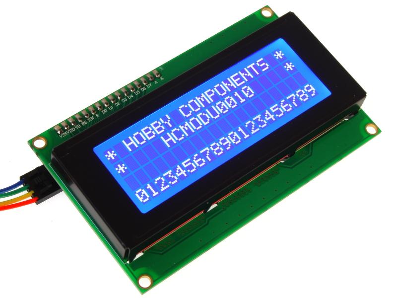 2004 20x4 I2C Serial LCD Module (HCMODU0010) - forum hobbycomponents com