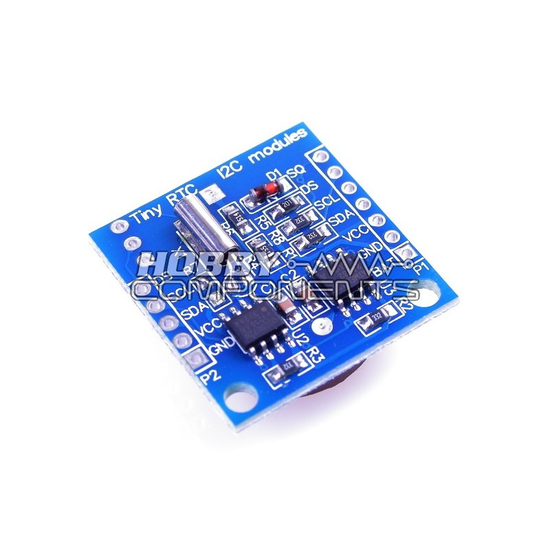 Tiny RTC DS1307 + 24C32 Real Time Clock Module (HCMODU0011