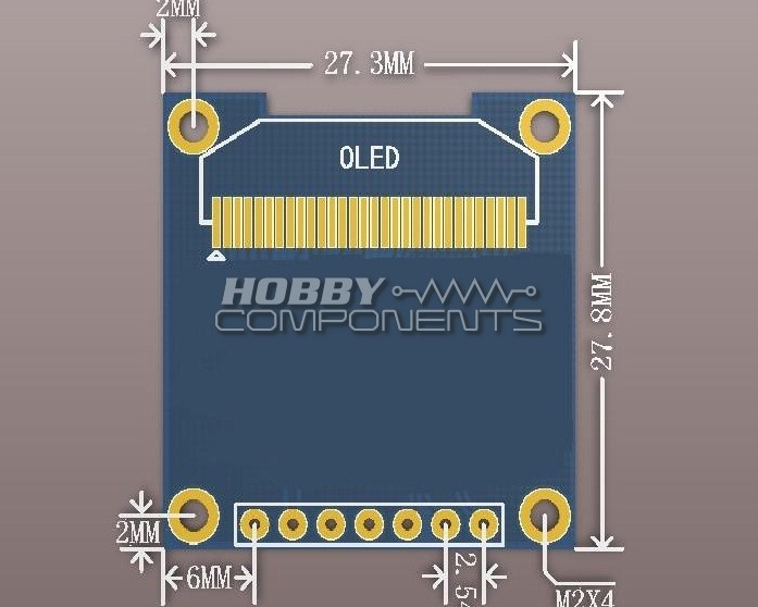 HCMODU0050_Dimentions forum hobbycomponents com view topic ssd1306 128x64 pixel OLED vs LED at bakdesigns.co