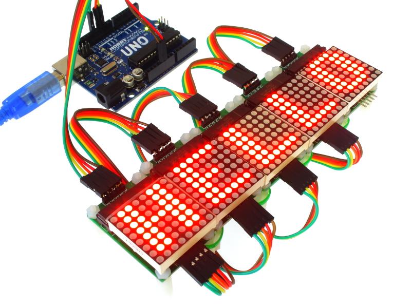 MAX7219 Serial Dot Matrix Display Module (HCOPTO0014) - forum