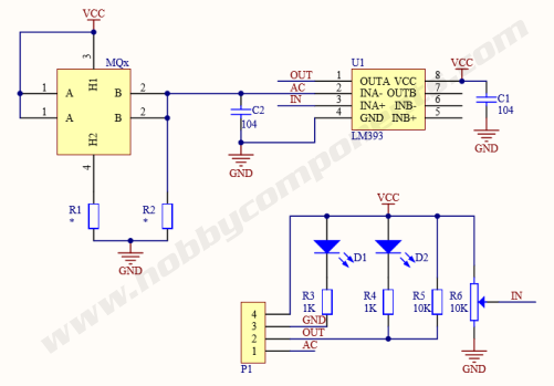 mq 7 carbon monoxide sensor module (hcsens0023) forum Electrical Diagram