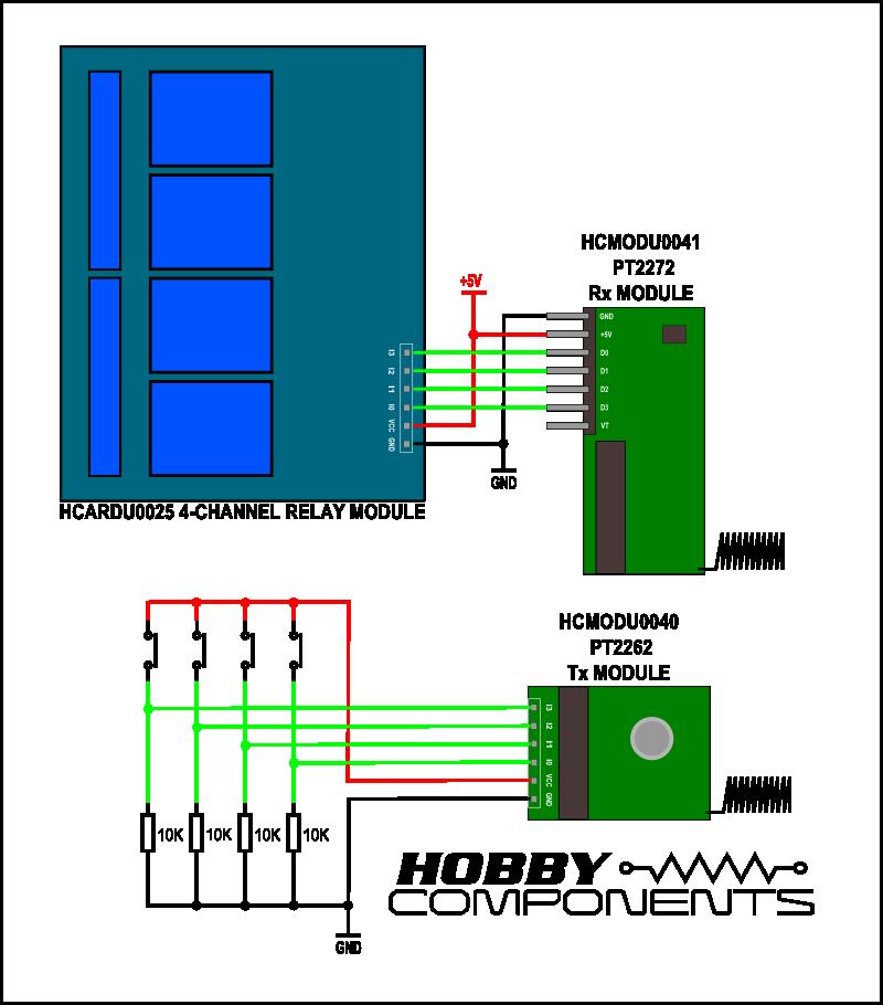 Pt2262  U0026 Pt2272 Wireless Modules  Hcmodu0040  U0026 Hcmodu0041