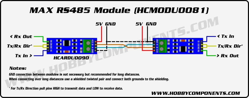 RS485_Module_HCMODU0081_Diagram max485 based ttl to rs485 transceiver module in pakistan hall road RS 485 Pinout Diagram at bakdesigns.co
