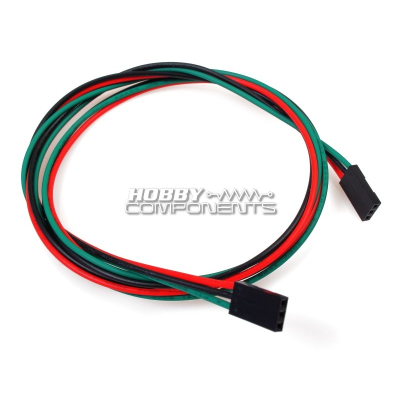 70CM Female to Female Dupont Cables (3P)