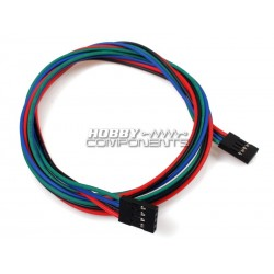 70CM Female to Female Dupont Cables (4P)