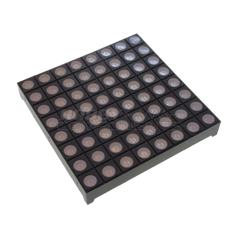 60mm 3 colour RGB Dot Matrix LED module