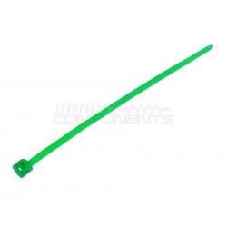 4 Inch Cable Ties GREEN (Pack of 100)