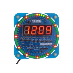 LED Style Pin Wheel Clock Kit
