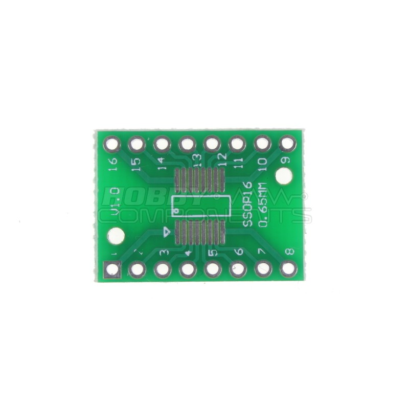 SO/SSOP/TSSOP/SOIC16 to DIP Double-sided Adapter PCB
