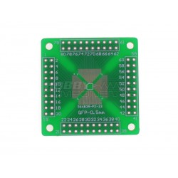 SMD QFP / TQFP / LQFP Compatible 16-80 To DIP Double-sided PCB
