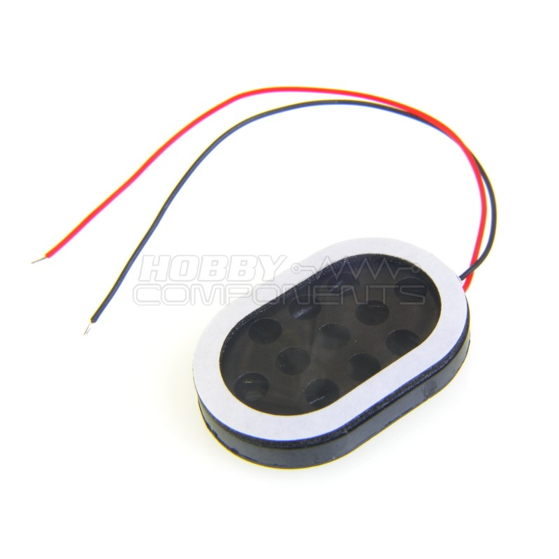 1W 8 Ohm loud speaker with self adhesive gasket