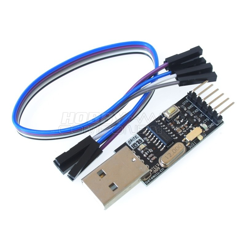 CH340 USB to TTL Serial Adaptor and Cable