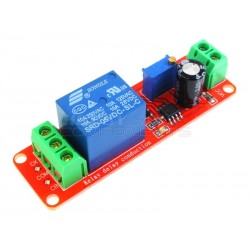 6V Adjustable 0 to 2 Second Delay Relay Module
