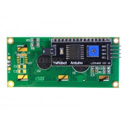 I2C Serial LCD 1602 Module Back View