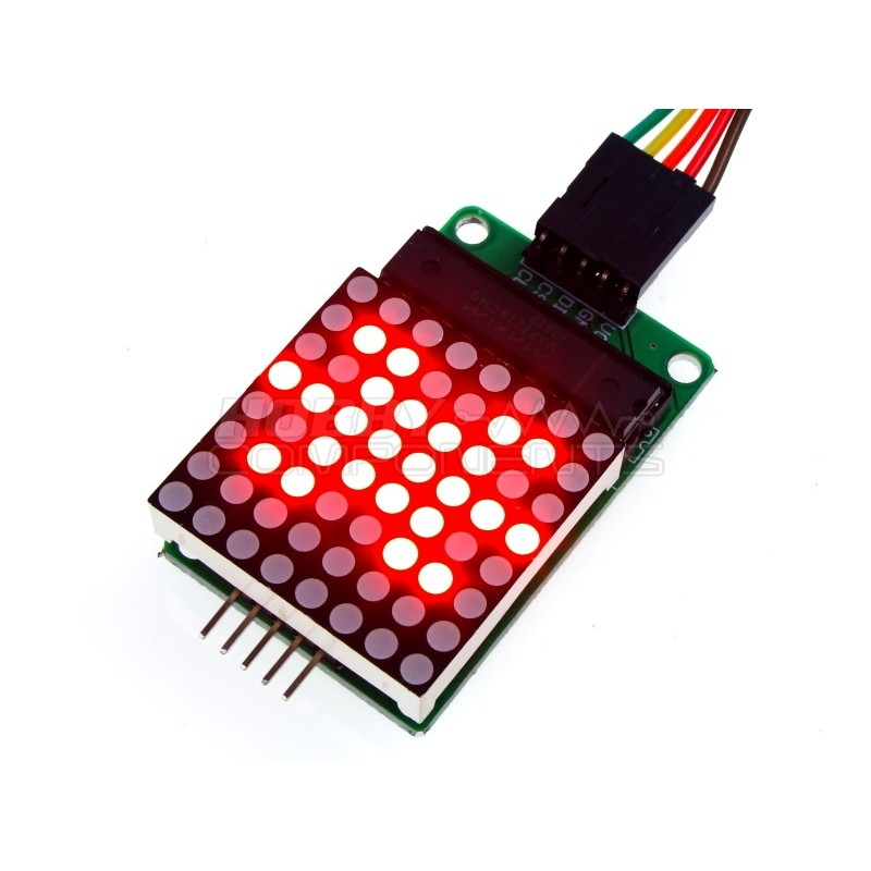 MAX7219 Serial Dot Matrix Display Module