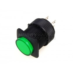 R16-504BD 16mm Push Button Switch (Green)