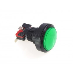 45mm Arcade Style Big Round Push Button (Green)