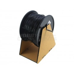 Filament holder, shown here with HC3DPR0018 Black PLA (not included).