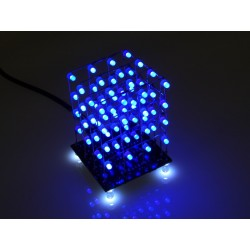 Hobby Components 4x4x4 64 LED cube kit (Blue)