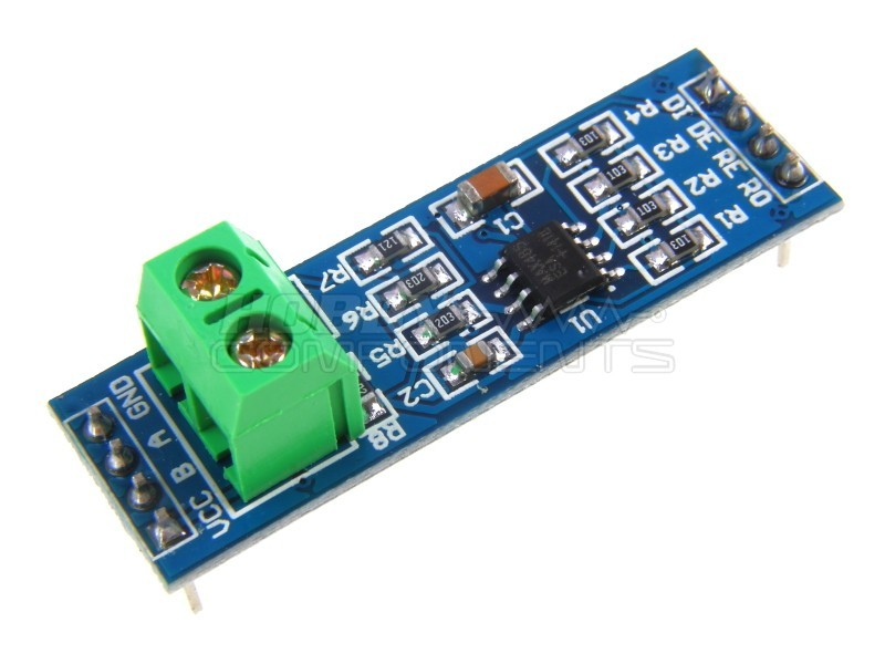 MAX485 RS485 transceiver module - Hobby Components