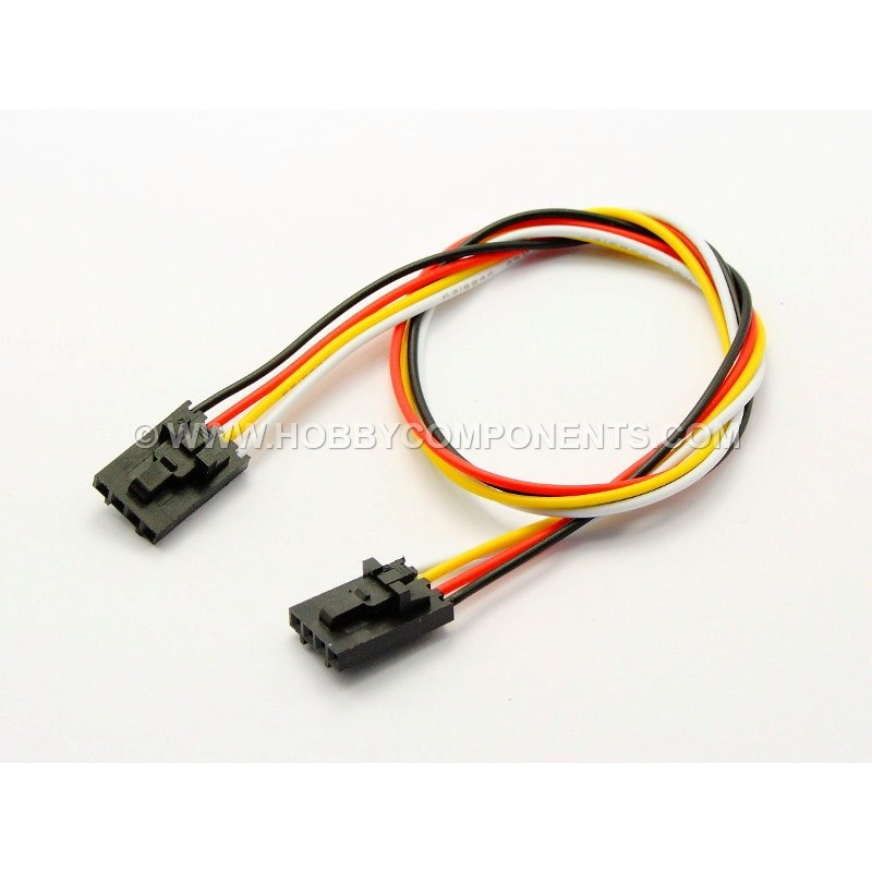4-way / pin Anti-reverse Cable - 30cm