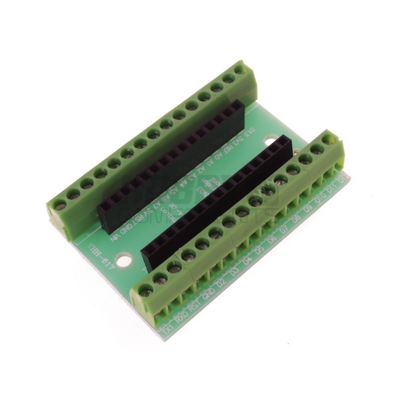 Terminal Expansion Adapter for Arduino Nano