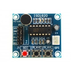 ISD1820 voice record and playback with speaker