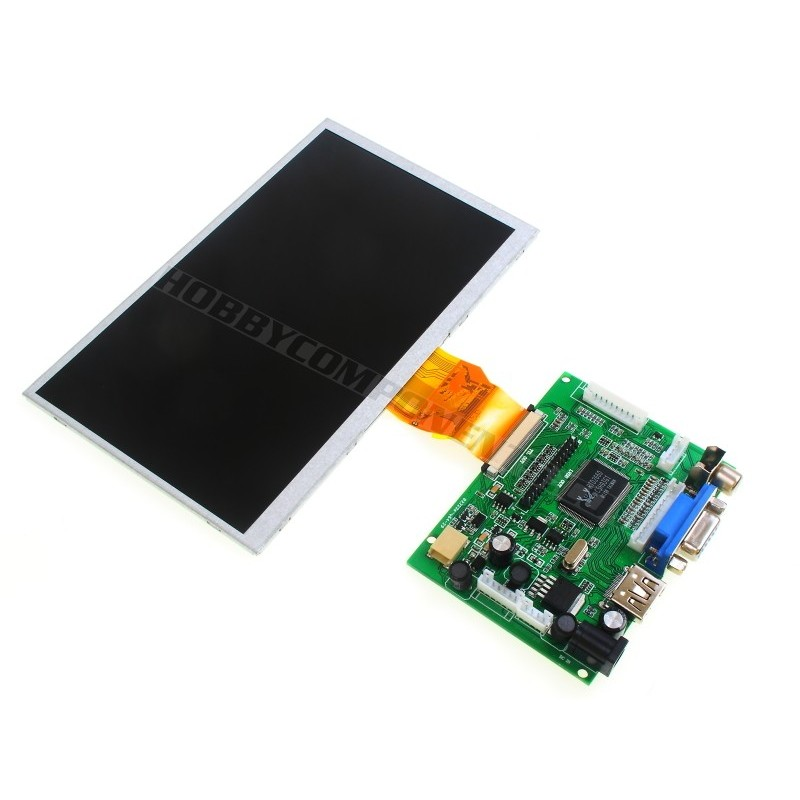 "7"" Colour TFT display with driver board"