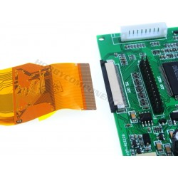 """7"""" Colour TFT display with driver board"""