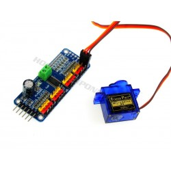 PCA9685 16ch 12bit PWM/Servo controller Module (Servo not included)
