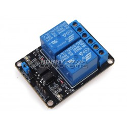 2-channel 2 way 5V Relay Shield Module with Opticalcoupler Protection