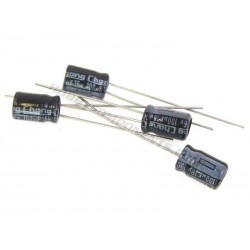 16V 100uF Electrolytic Capacitor