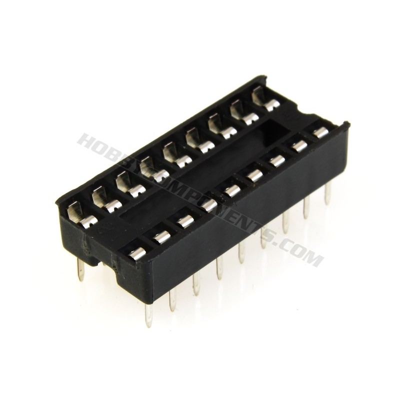 0.3 Inch DIL IC Sockets 18 Pin