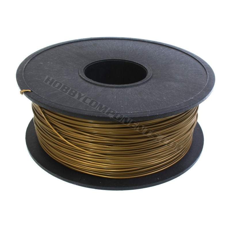 PLA Filament for 3D Printing 1.75mm Gold