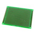 Double-Sided Glass Fiber Prototyping PCB Universal Board (6 x 8cm)