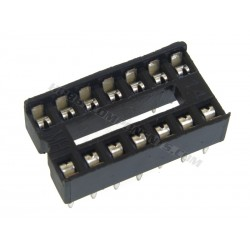 0.3 Inch DIL IC Socket 14 Pin (Pack of 5)