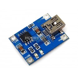 Mini Lithium Battery 5V USB 1A Charging Board