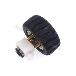 F05102 N20 Micro Geared Motor with Wheel