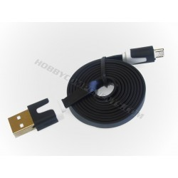 Micro USB Cable - Flat Design