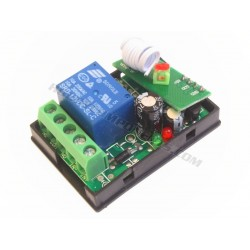 315MHz remote controlled relay with remote
